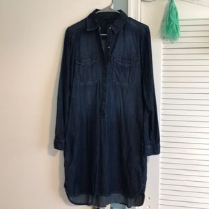White House Black Market Jean Dress